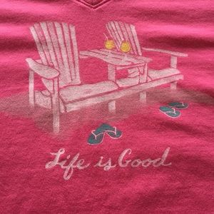 NWT Life is Good T- Shirt